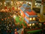 Suasana perayaan Imlek di Mall Taman Anggrek